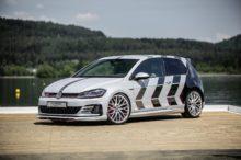 Volkswagen eleva al Golf GTi hasta el siguiente nivel con 411 CV de potencia en forma de prototipo
