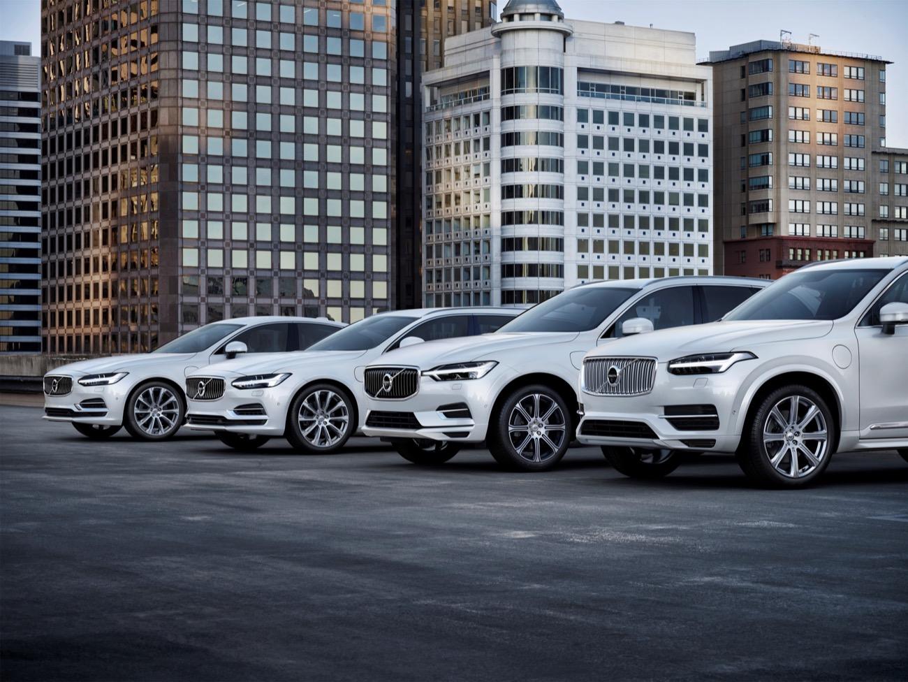 gama Volvo hibridos