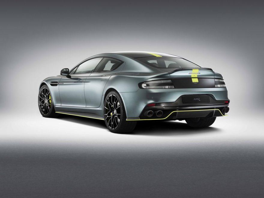 Aston Martin Rapide AMR, 603 CV para una edición limitada con aires de Le Mans