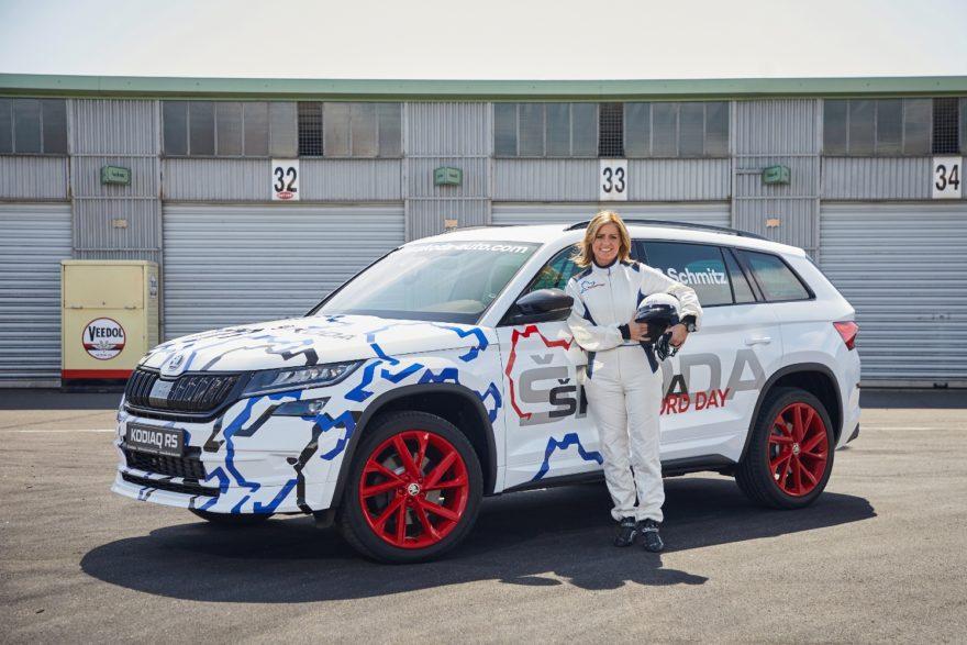 Škoda Kodiaq RS desvela su potencia y de paso se marca un tiempo récord en Nurburgring