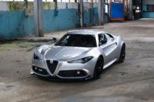 El Alfa Romeo 4C se reinterpreta gracias al trabajo de Mole Design, y es impresionante