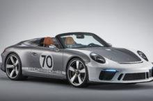 El Porsche 911 Speedster llega como la versión culmine del deportivo germano, pero en forma de concept car