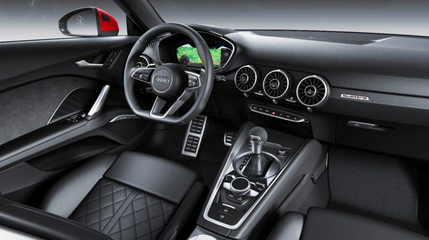 El Audi TT se actualiza con pequeños cambios en el exterior y un mejor equipamiento de serie