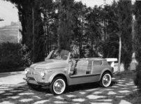 """Fiat 500 """"Spiaggina '58"""", el autoregalo por el aniversario de este icónico modelo"""