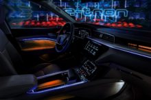 El Audi e-tron prototype desvela su tecnológico interior en la Royal Danish Playhouse