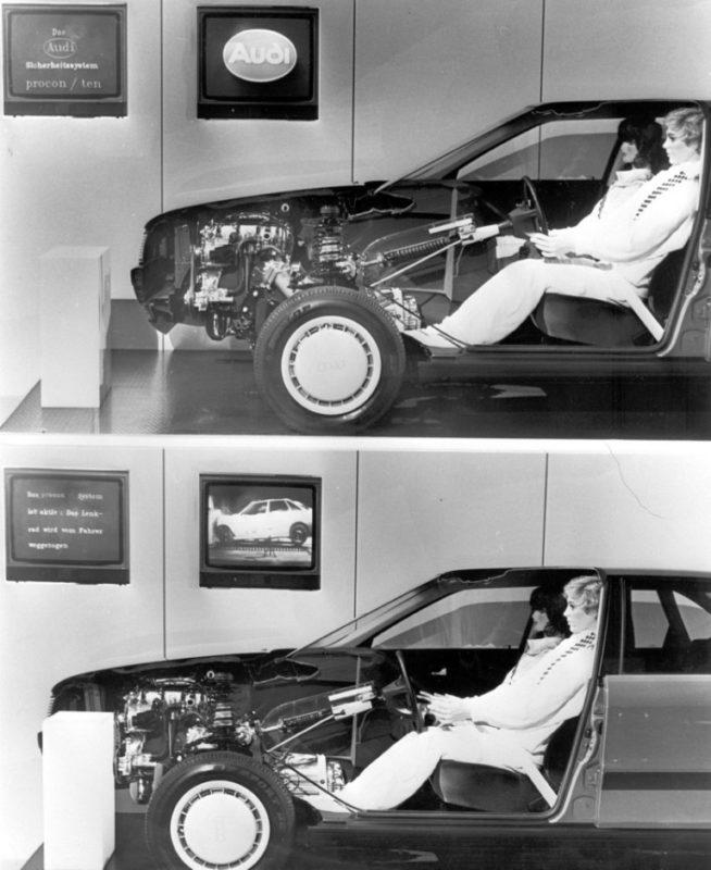 """¿Que era y como funcionaba el sistema de seguridad """"Procon-Ten"""" de Audi?"""