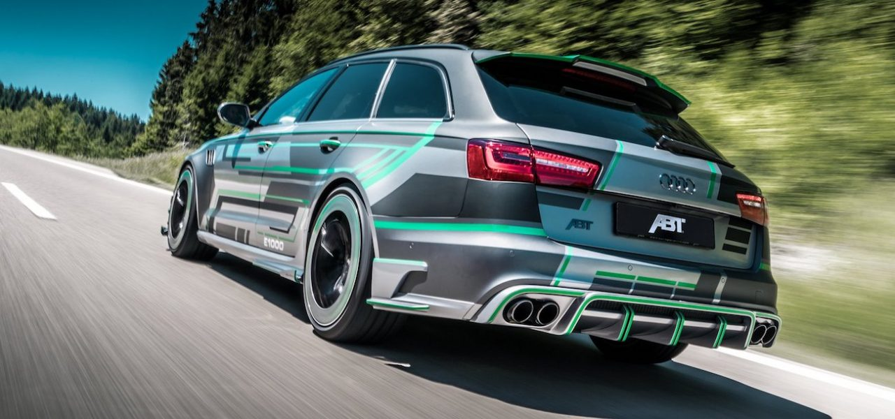 Audi RS6-E Hybrid Avant Concept: una berlina familiar ...