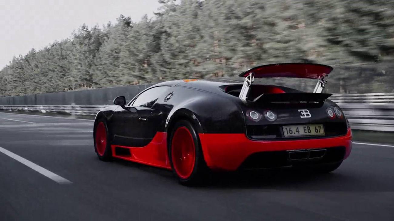 bugatti veyron cambio de aceite