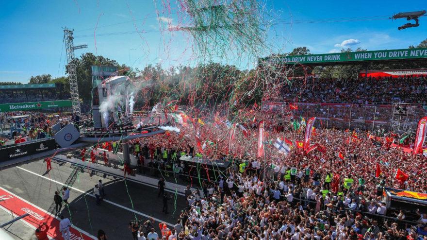 Monza es uno de los circuitos en los que más vibra la afición