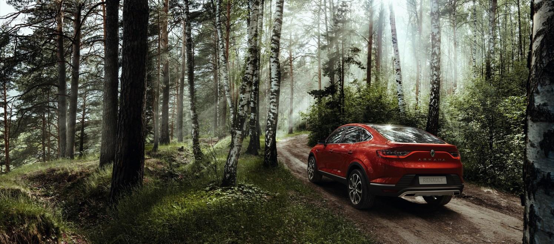 El Renault Arkana se desvela finalmente en todo su esplendor durante el Salón del automóvil de Moscú