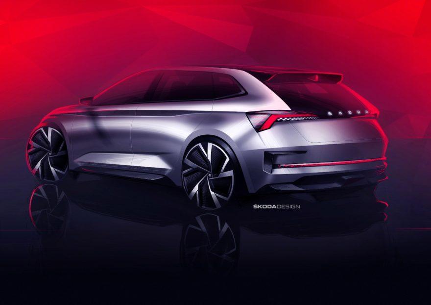 Škoda Vision RS, el anticipo del próximo compacto checo y las versiones RS