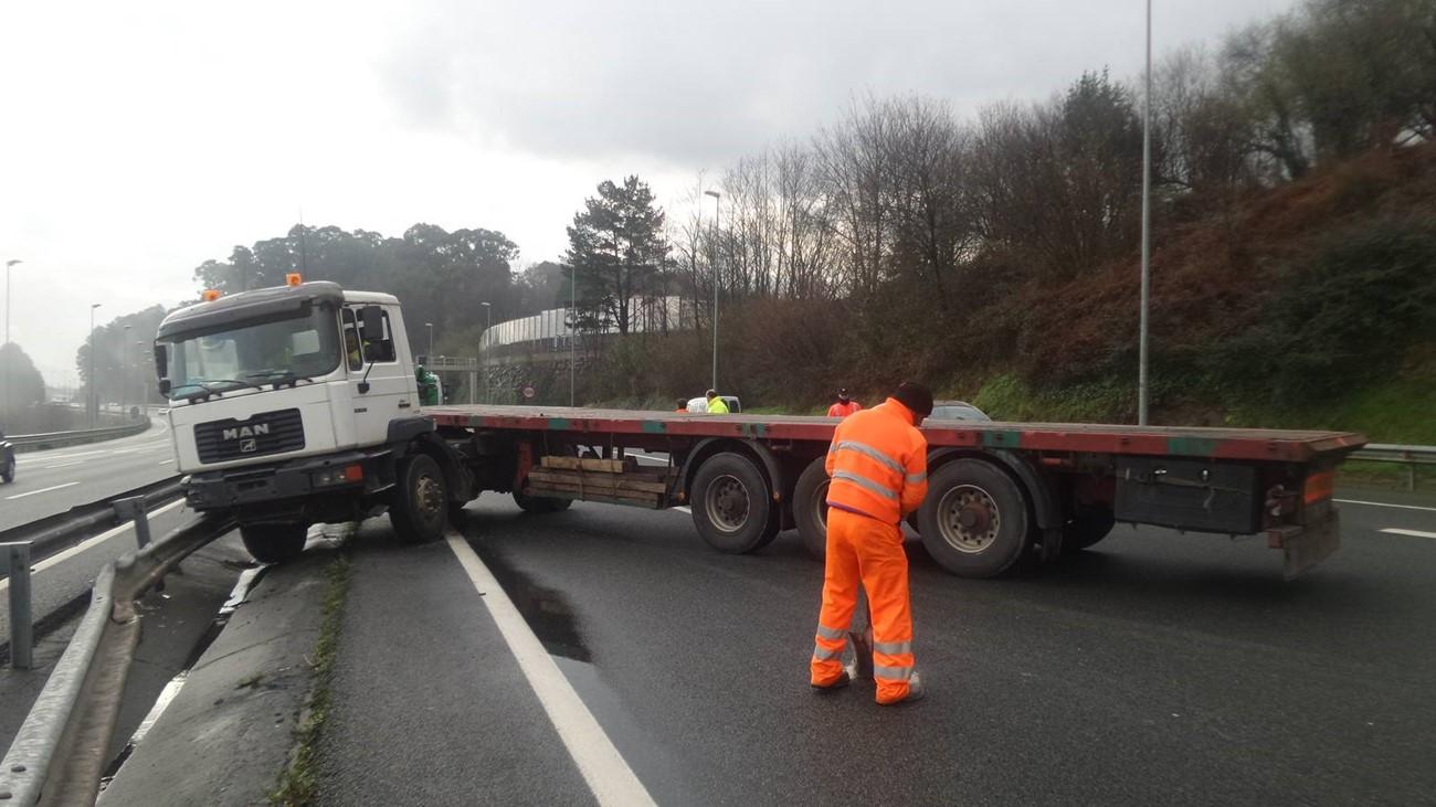 accidente camion rusia fatiga dormirse al volante