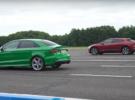 Audi RS3 Sedán vs Jaguar I-Pace: ¿podrá la gasolina contra la electricidad?