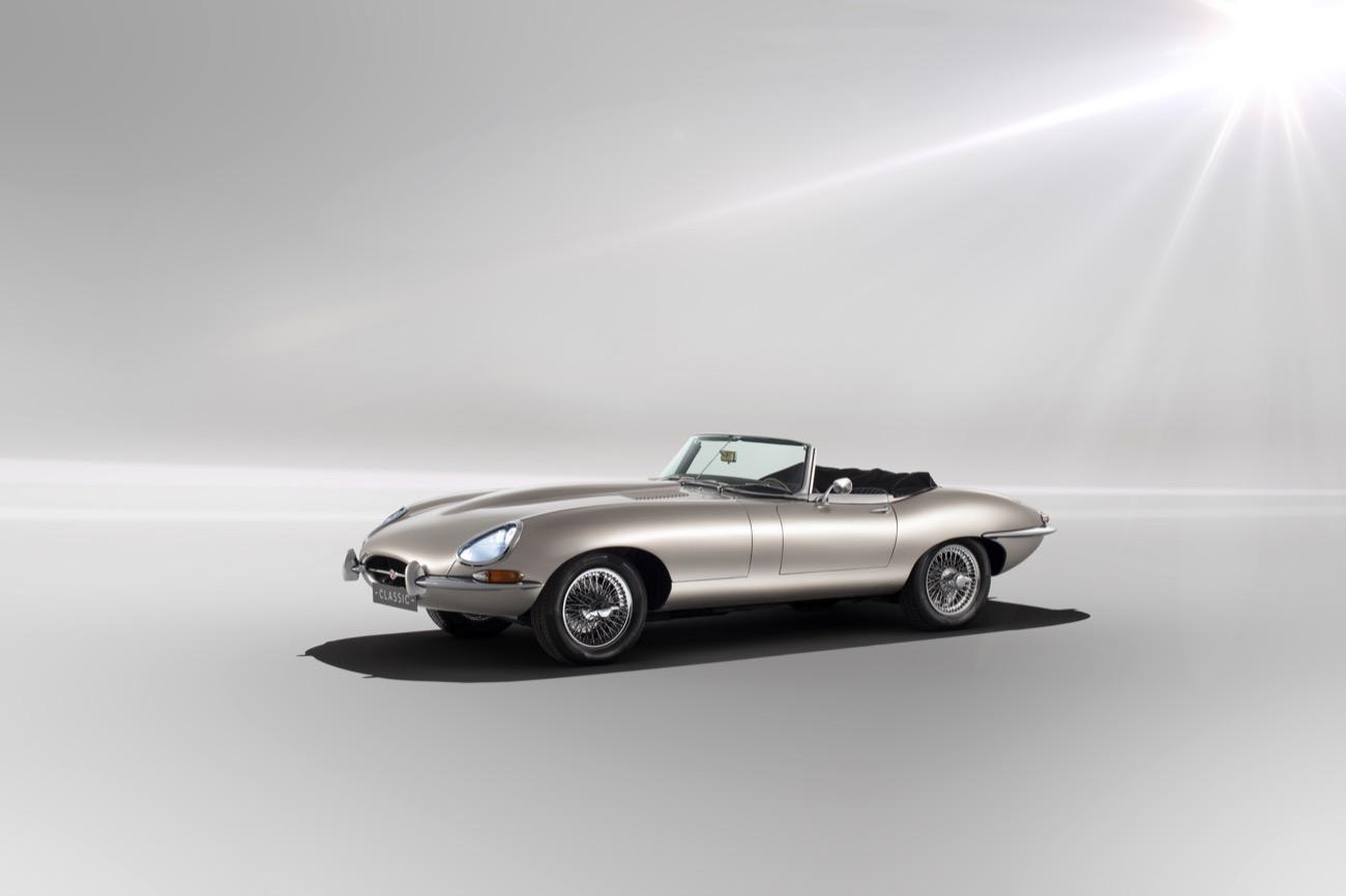 Jaguar E-Type eléctrico
