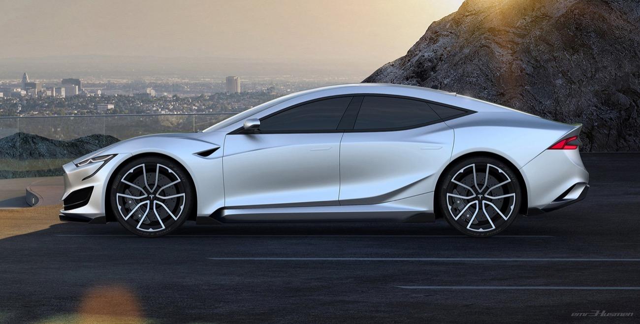 Tesla Model S by Emre Husmen