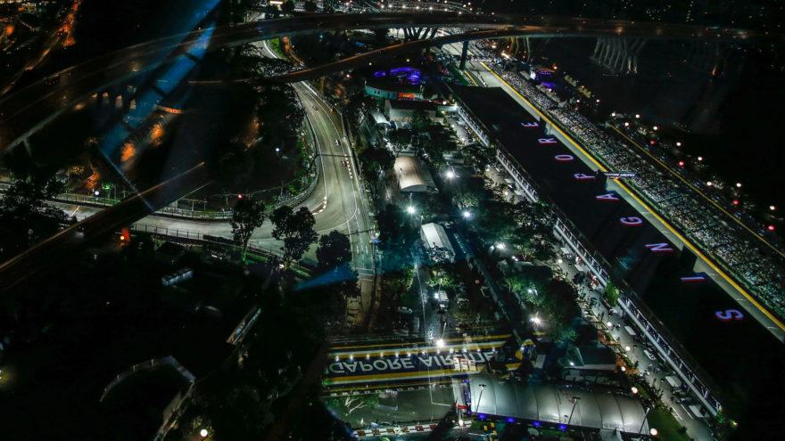 El Circuito de Marina Bay acoge el GP de Singapur 2018