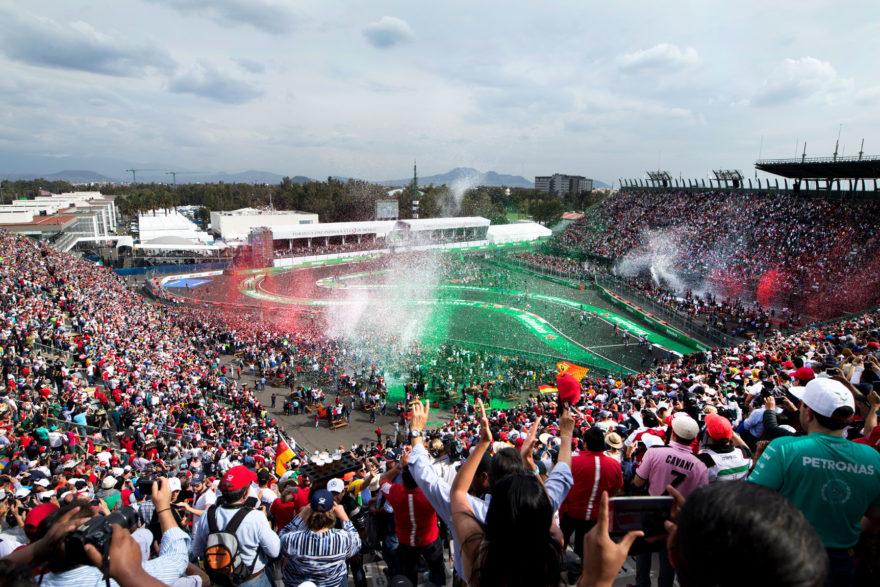 El Autódromo Hermanos Rodríguez registrará como siempre un gran ambiente