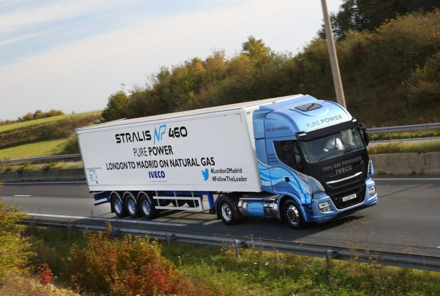 Iveco Stralis NP 460 con gas natural