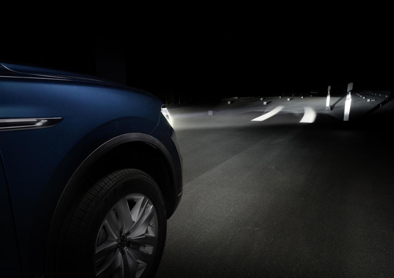 Faros interactivos Volkswagen