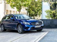 Mercedes c300de híbrido enchufable diésel