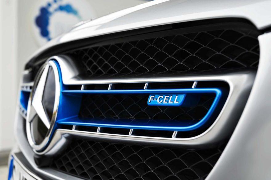 Mercedes GLC F-Cell, el primer modelo de hidrógeno de la marca alemana
