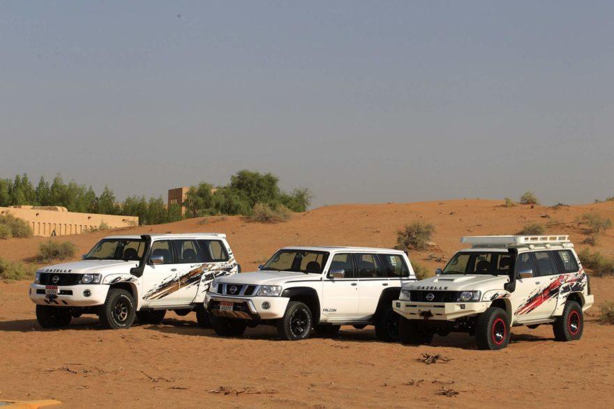 Nissan Patrol versiones oriente medio