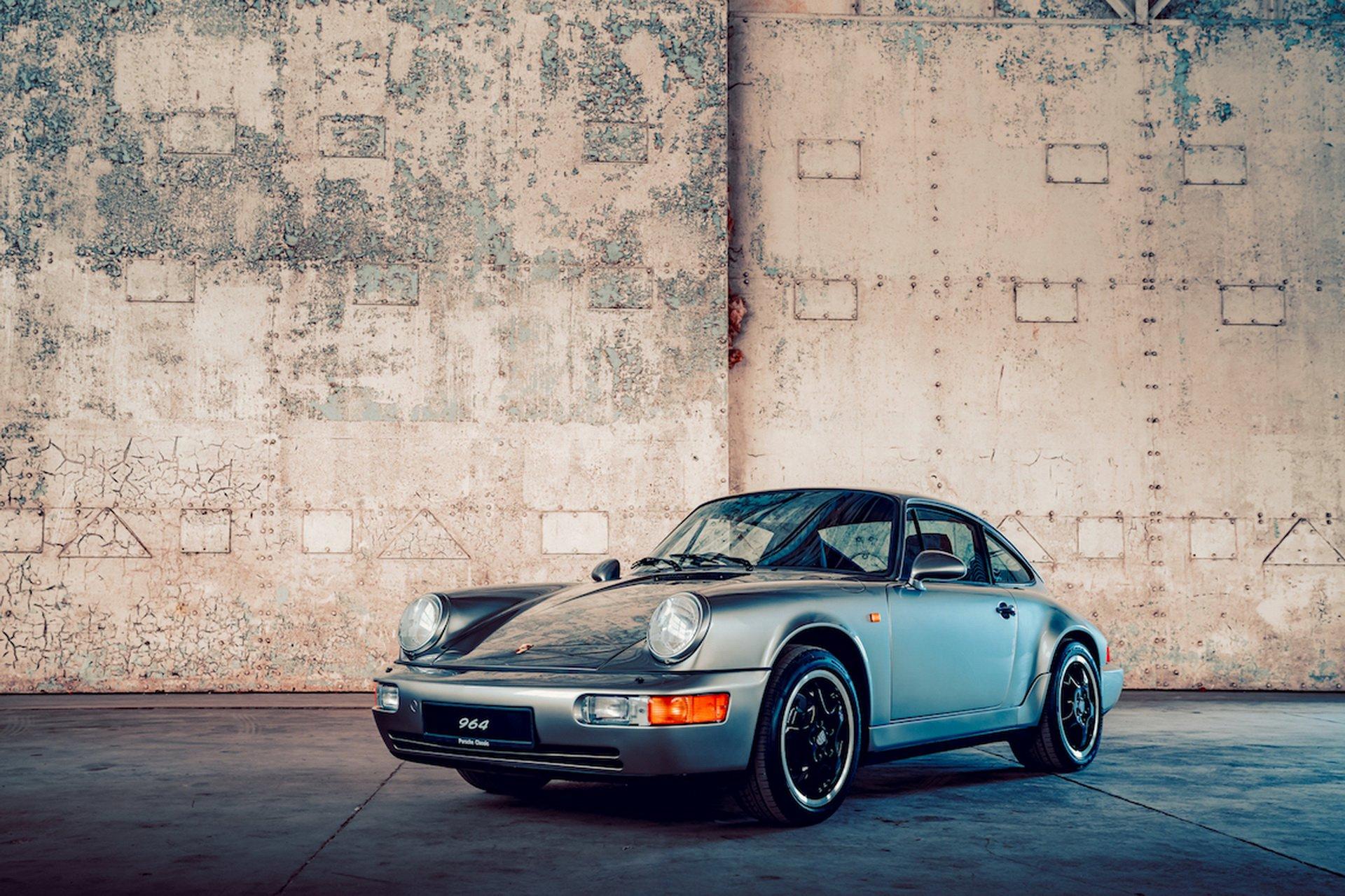 Porsche restaura 20 coches clásicos en Reino Unido