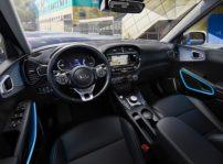 El nuevo Kia Soul EV se presenta en el Salón de Los Ángeles con un motor más potente de 204 CV