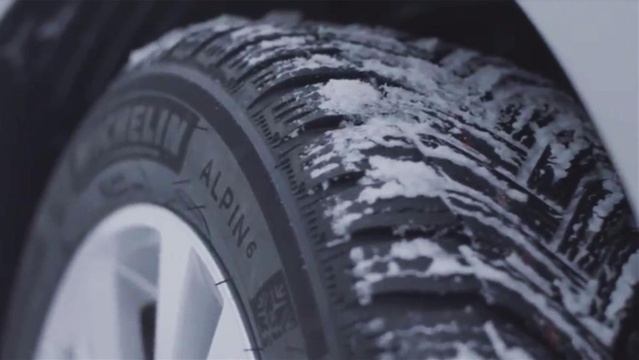 Neumáticos MICHELIN CrossClimate y Alpin para invierno
