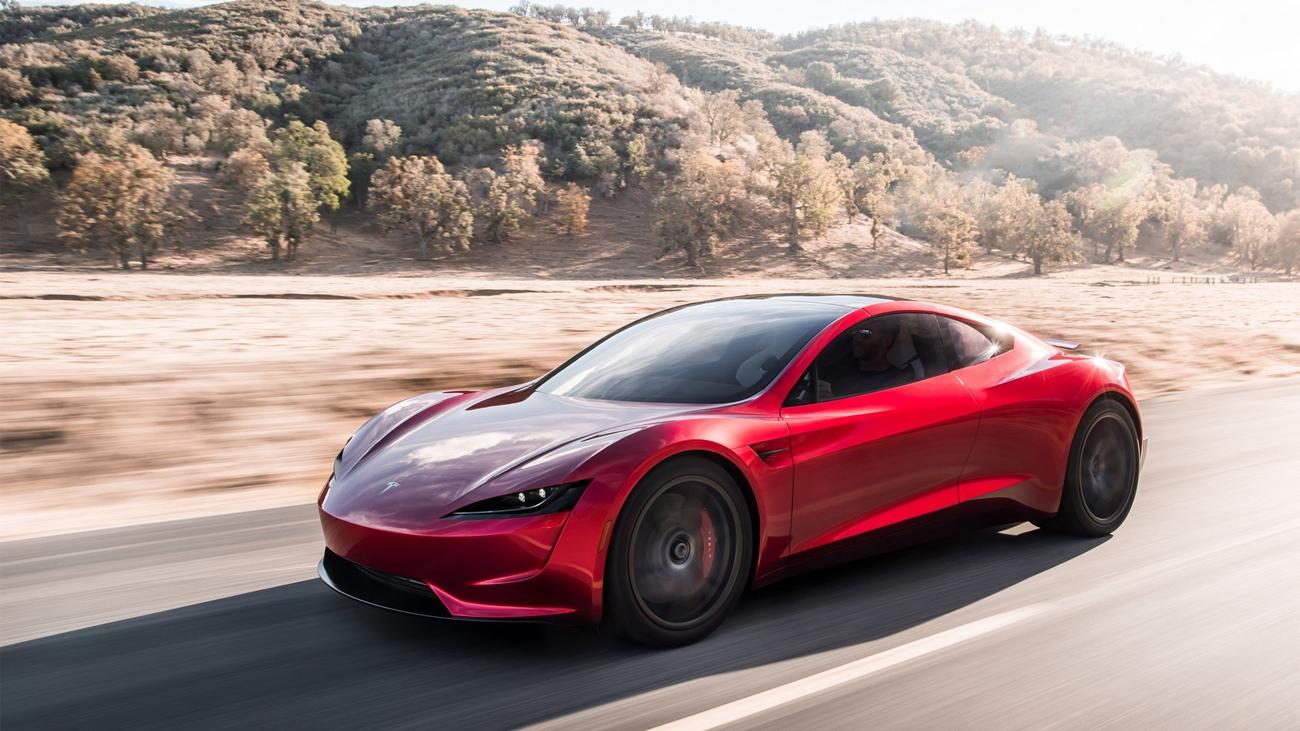 Tesla Roadster Hiperdeportivo