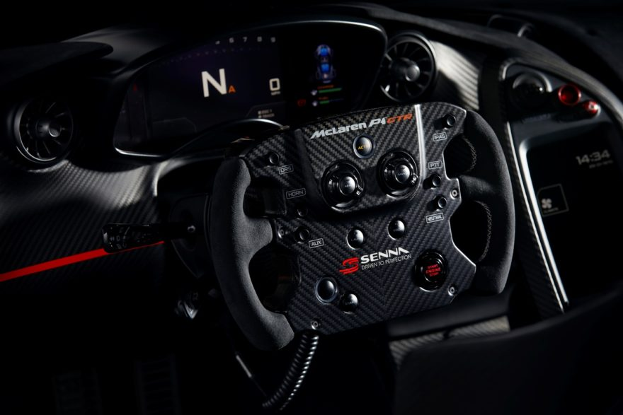 MSO rinde tributo al título de F1 de Ayrton Senna en 1988 con un espectacular McLaren P1 GTR