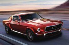 ¿Os imagináis un Mustang del 67 eléctrico? Pues podría ser una realidad gracias a Aviar Motors