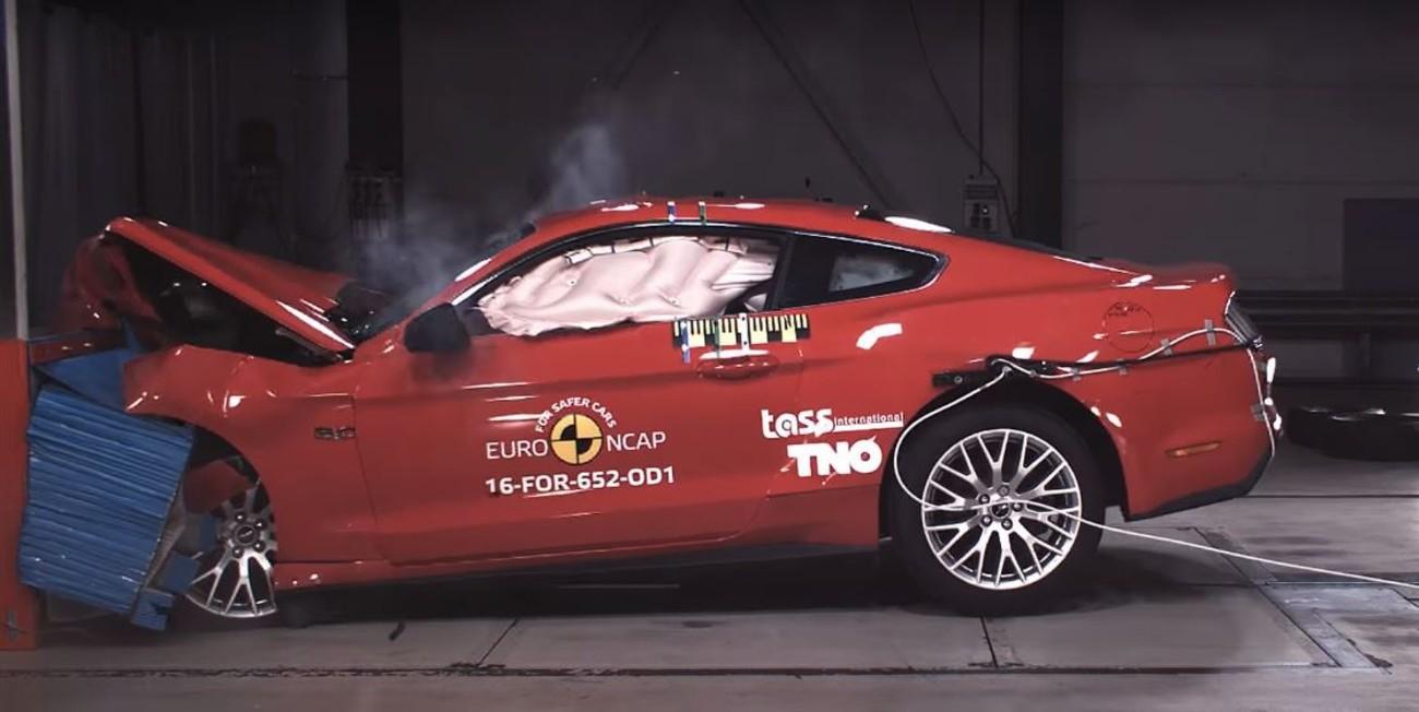 Ford Mustang Euro NCAP