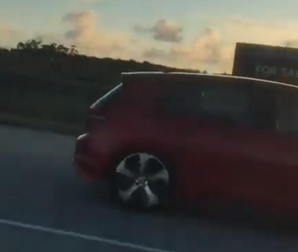 Golf Mk8 visto en sudáfrica