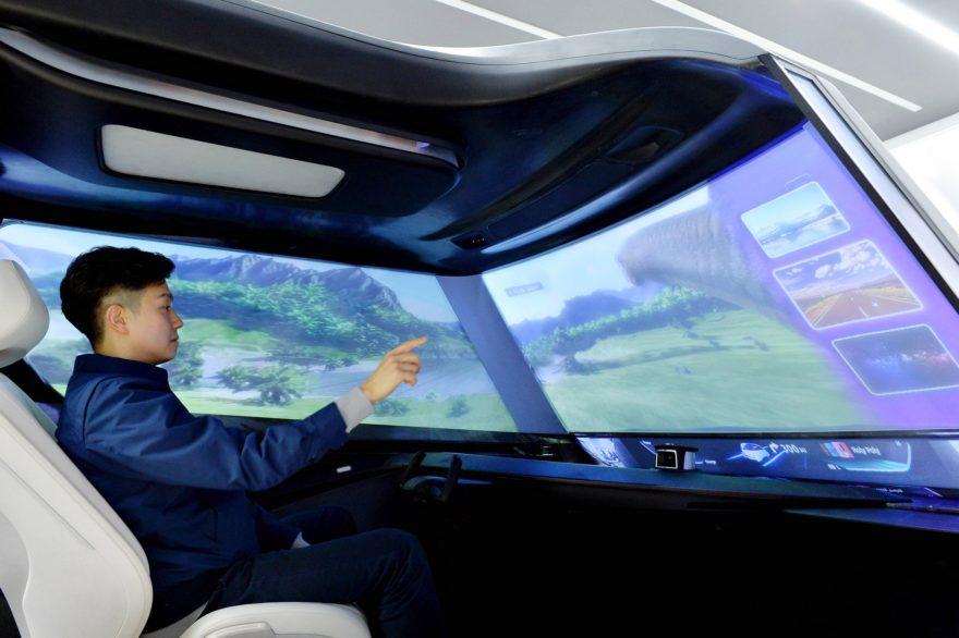 Interior de los coches autónomos