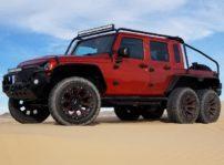 Jeep Wrangler JK 6x6 tuning