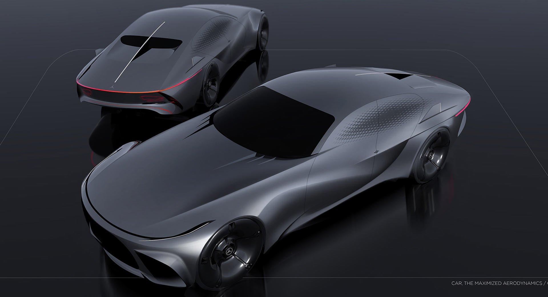 Mercedes Benz Nostalgia del futuro. Concepto.