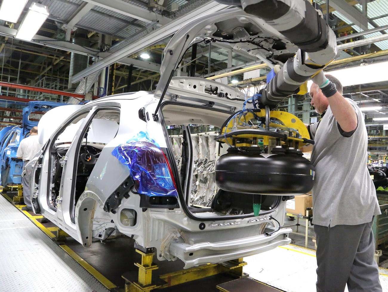 Opel GLP Factoría