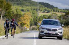 SEAT Tarraco: asistencia a la conducción con reconocimiento de ciclistas