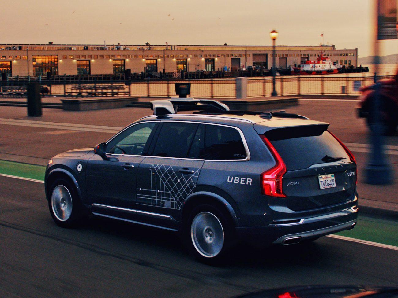 Volvo autónomo Uber