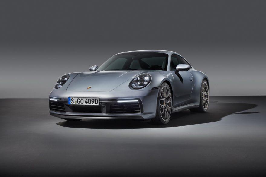Porsche 911 sistema anti-aquaplaning