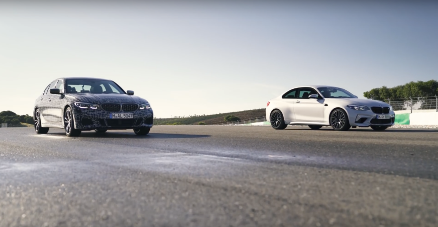 Bmw M2 Competition Vs M340i Carrera Drag 01