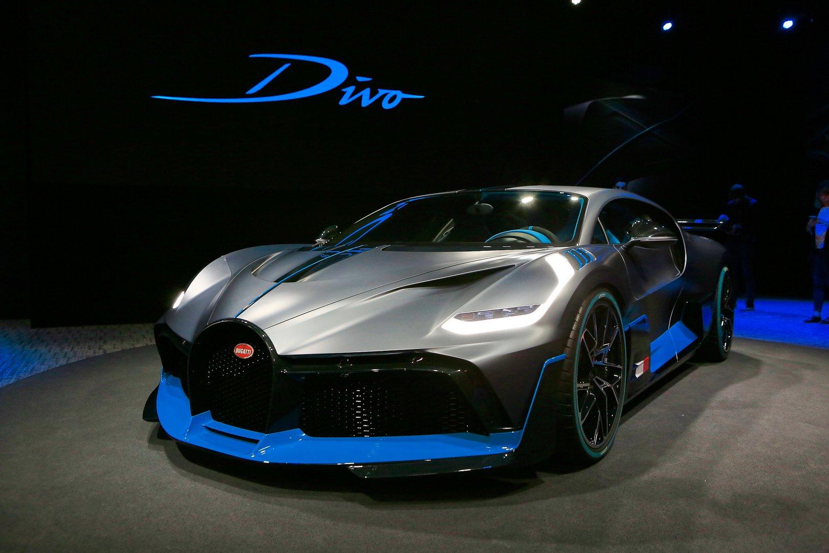 Bugatti Divo Plaza De Reserva