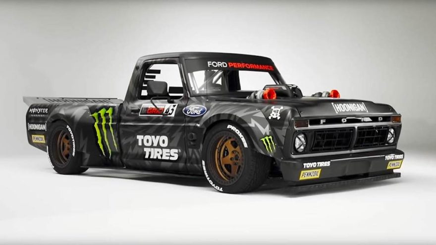 Ford Engineers Make Record Breaking 3d Part To Help Bring Ken Block's 'hoonitruck' To Life