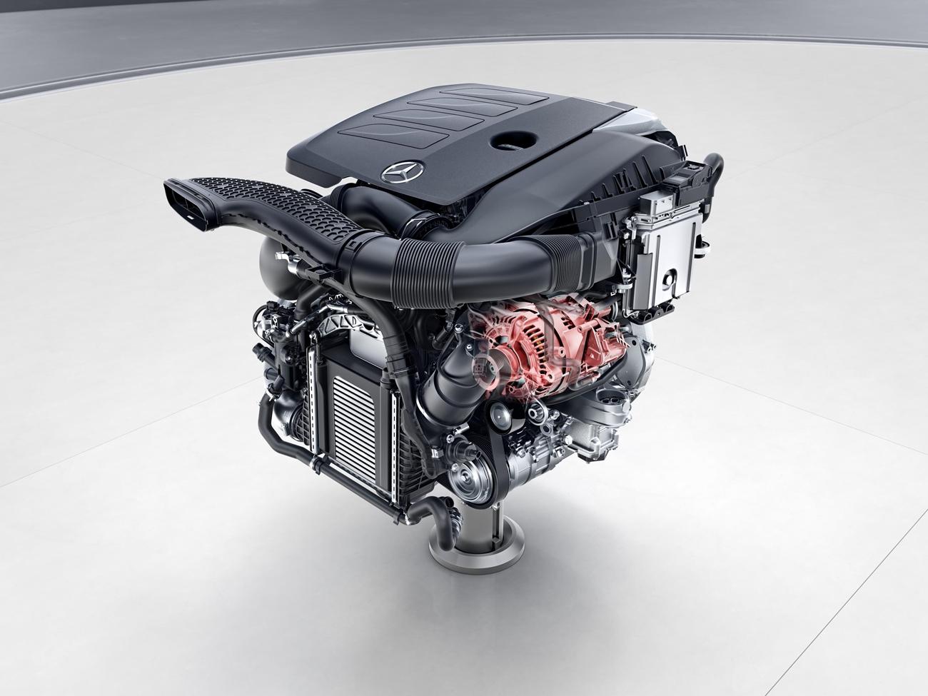 Motor Mercedes-Benz Mild Hybrid