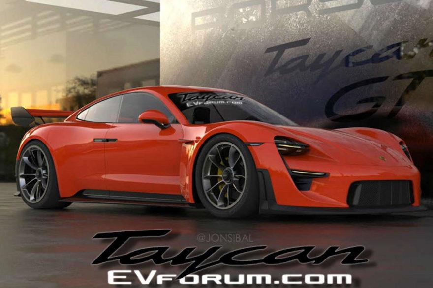 Porsche Taycan Gt3 Rs Render 01