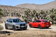 BMW X3 M y X4 M, deportividad SUV con 480 CV de potencia o 510 CV en su versión Competition