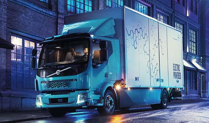 Camiones eléctricos de Volvo