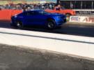 Así es como el Chevrolet eCOPO Camaro demuestra su poderío 100% eléctrico en las carreras de drag