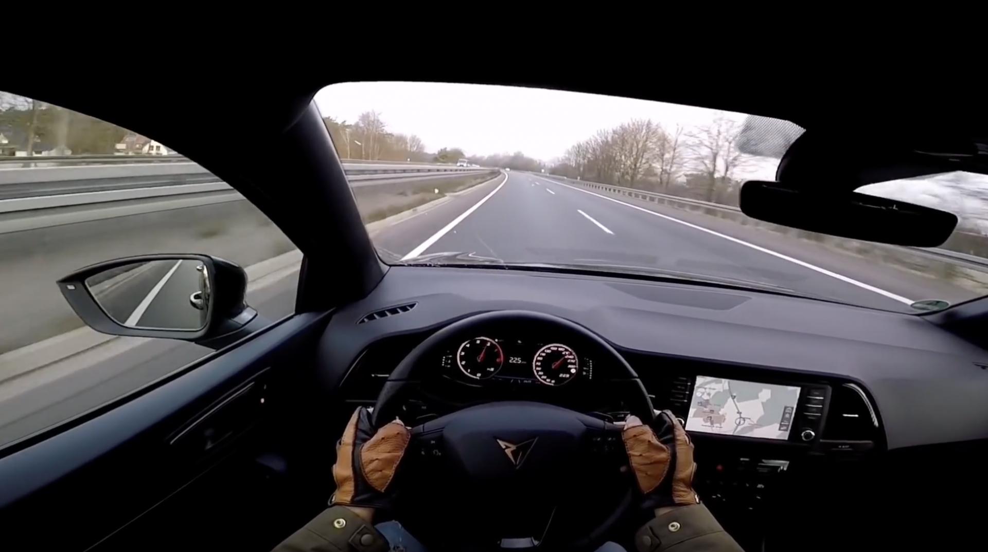 Cupra Ateca Video Velocidad Autobahn 01